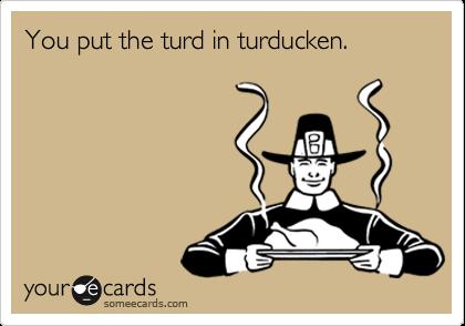 Ecard turd