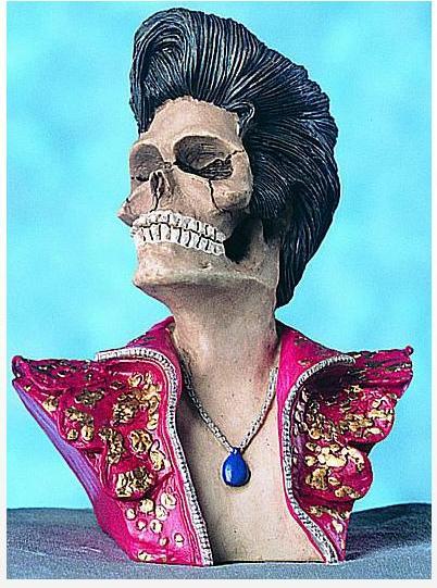 Skull Elvis 1