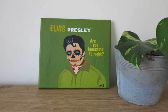 Skull Elvis 3