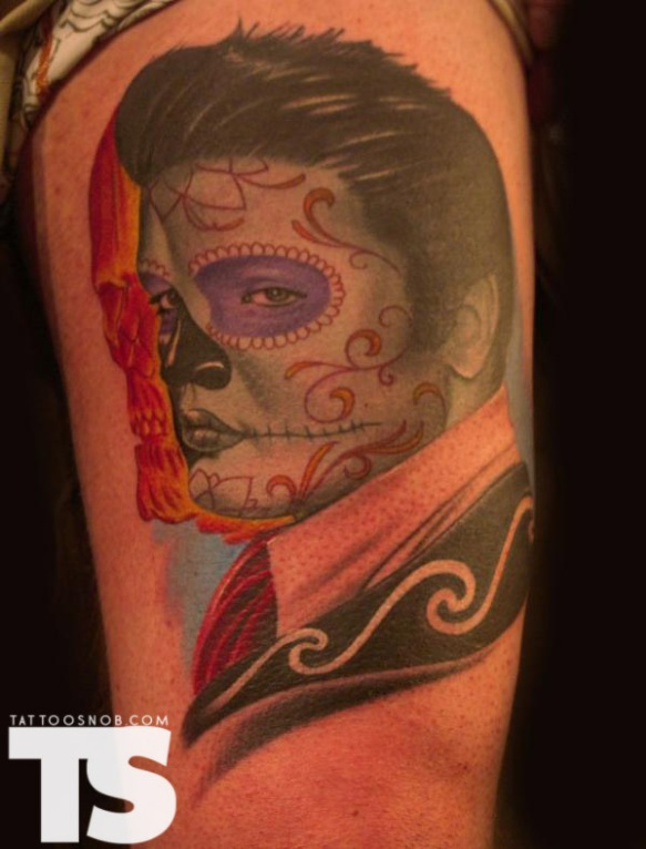 Skull Elvis 5