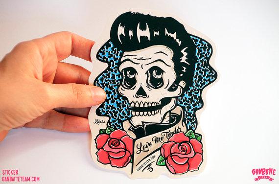 Skull Elvis 6